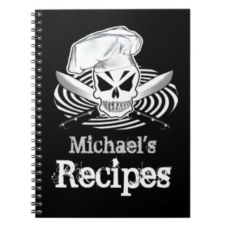 Customizable Recipe Book Note Books
