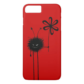 Customizable Red Evil Flower Bug iPhone 8 Plus/7 Plus Case
