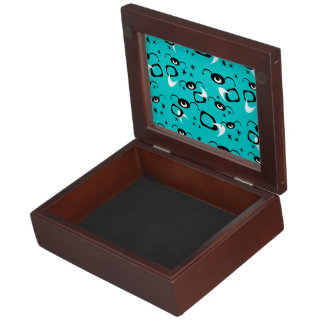 Customizable Retro Spiders Memory Box