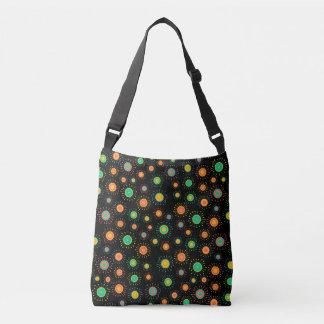 Customizable Retro Starbursts Crossbody Bag