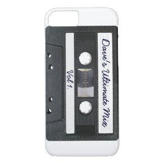 Customizable Retro Tape Cassette iPhone 7 Case