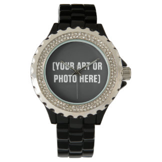 Customizable Rhinestone eWatchFactory Watch