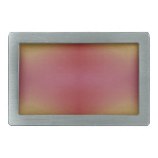Customizable Rose Yellow Soft Subtle Background Belt Buckles