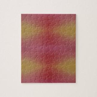 Customizable Rose Yellow Soft Subtle Background Jigsaw Puzzle