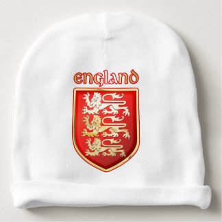 Customizable Royal Arms of England Baby Beanie