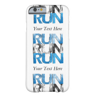 Customizable RUN x 3 Runners Barely There iPhone 6 Case