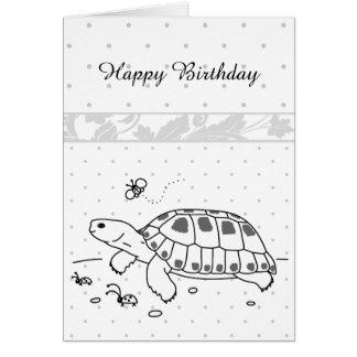 Customizable Russian Tortoise Card