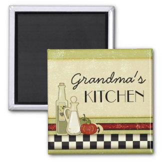 Customizable rustic kitchen magnet