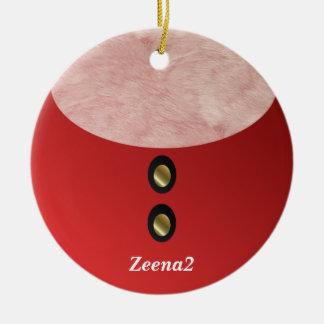 Customizable Santa Christmas Ornament 2010