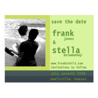 Customizable Save the Date Card