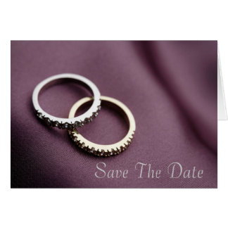 Customizable Save The Date Greeting Cards