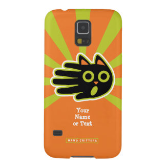 Customizable Scared Cat Case For Galaxy S5