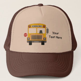 Customizable School Bus Trucker Hat