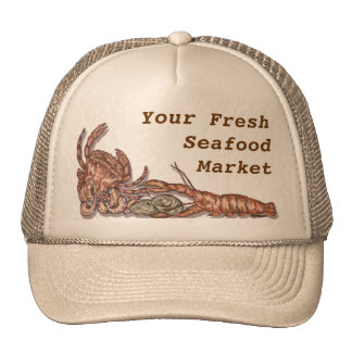 Customizable Seafood Hat