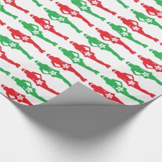 Customizable Sexy Xmas Elf Wrapping Paper
