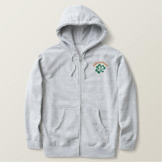 Customizable Shamrock Hoodie or Tshirt