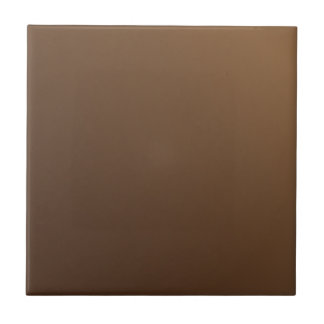 Customizable Simple Light Brown Gradient Tile