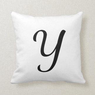 Customizable Single Letter Pillow