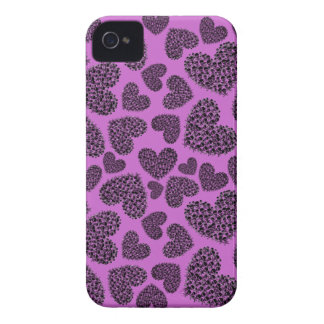 Customizable Skull Hearts iPhone 4 Cover