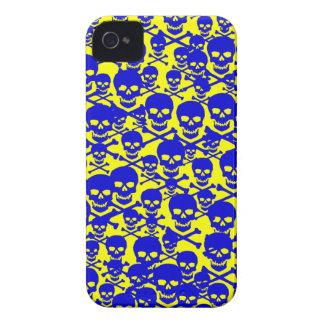 Customizable Skulls & Crossbones iPhone 4 Cases