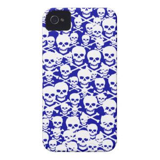 Customizable Skulls & Crossbones iPhone 4 Cover