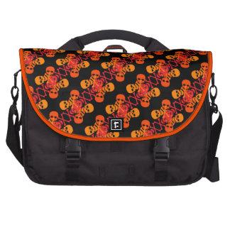 Customizable Skulls & Crossbones Bag For Laptop