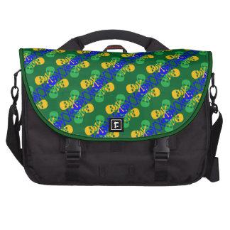 Customizable Skulls & Crossbones Laptop Bag