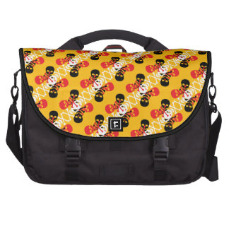 Customizable Skulls & Crossbones Commuter Bags