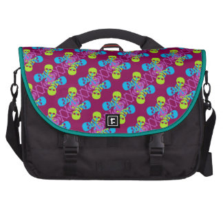Customizable Skulls & Crossbones Bags For Laptop