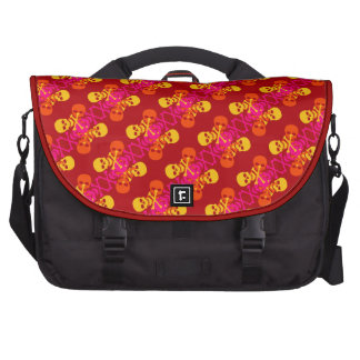 Customizable Skulls & Crossbones Laptop Shoulder Bag