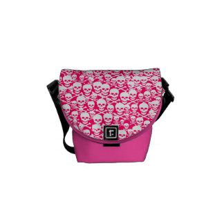 Customizable Skulls & Crossbones Messenger Bag