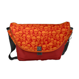 Customizable Skulls & Crossbones Courier Bag