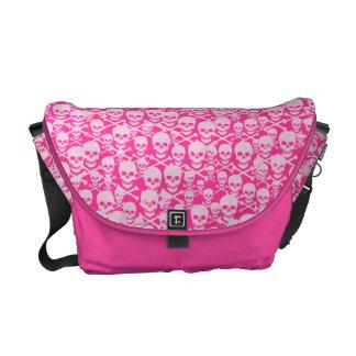 Customizable Skulls & Crossbones Messenger Bags