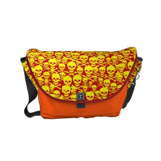 Customizable Skulls & Crossbones Commuter Bag