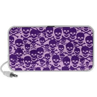 Customizable Skulls & Crossbones Travel Speaker
