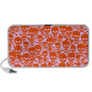 Customizable Skulls & Crossbones Notebook Speakers