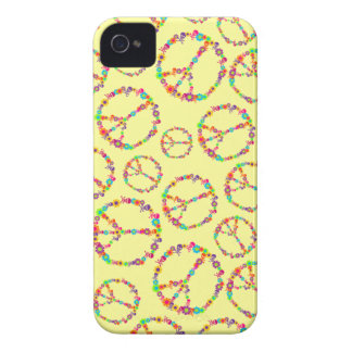 Customizable Skully Flower Power Peace iPhone 4 Covers