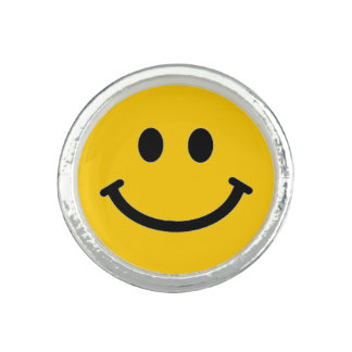 Customizable Smiley Face Ring