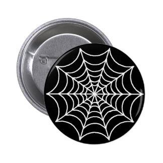 Customizable Spider Web 6 Cm Round Badge