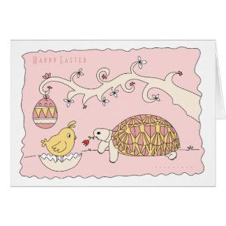 Customizable Star Tortoise Easter Card