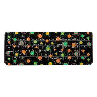 Customizable Starbursts Wireless Keyboard