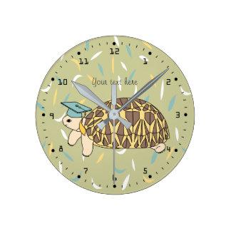 Customizable StaTortoise Graduation Tortoise Clock
