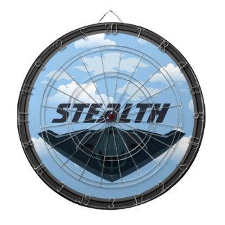 Customizable Stealth Dartboard