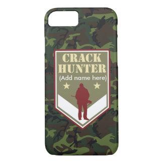 Customizable stylish hunting badge: Crack Hunter, iPhone 7 Case