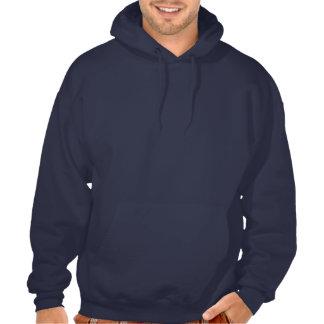 Customizable stylish hunting badge: Crack Hunter, Hooded Sweatshirt