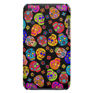 Customizable Sugar Skulls Case-Mate iPod Touch Case