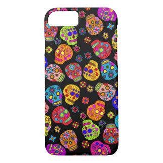 Customizable Sugar Skulls iPhone 7 Case