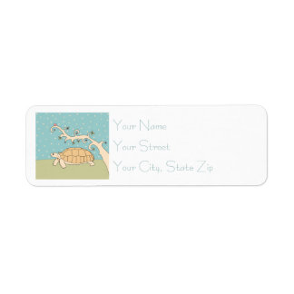 Customizable Sulcata Tortoise Labels