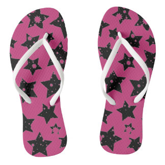 customizable super starie unisex flip flops