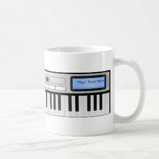 Customizable Synthesizer Keyboard Mug